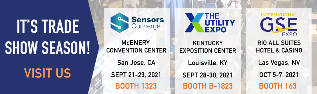 Visit Suco technologies at GSE Expo, Utility Expo and Sensors